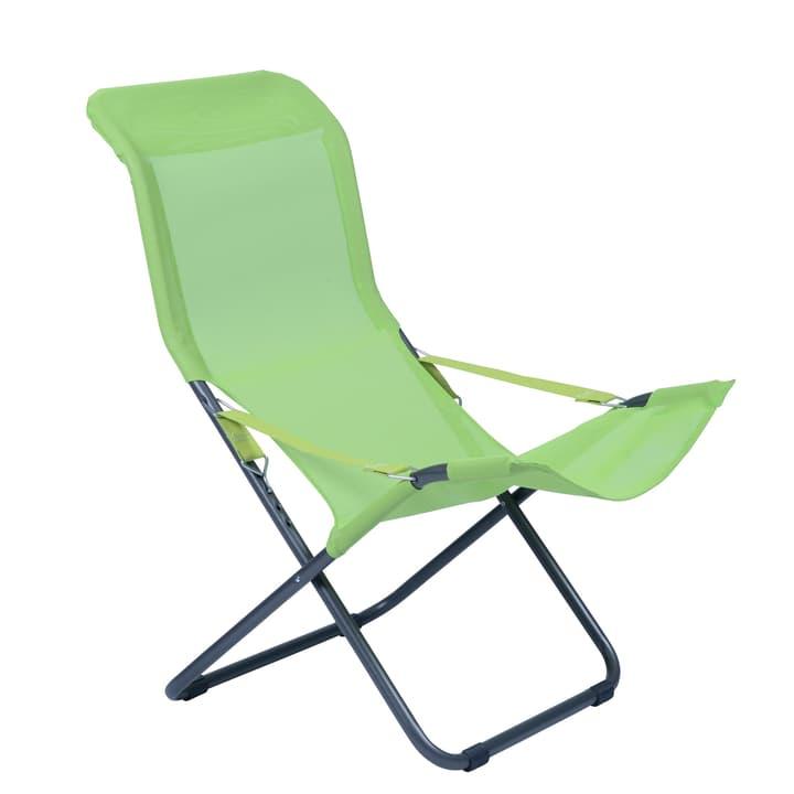 Fauteuil Relax Chaise longue Fiam 753015700061 Couleur de l'habillage Vert Taille L: 106.0 cm x L: 61.0 cm x H: 98.0 cm Photo no. 1