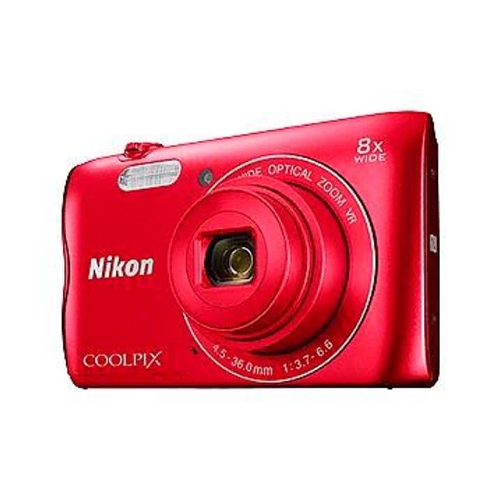 A300 Coolpix Appareil photo compact rouge Nikon 785300125633 Photo no. 1