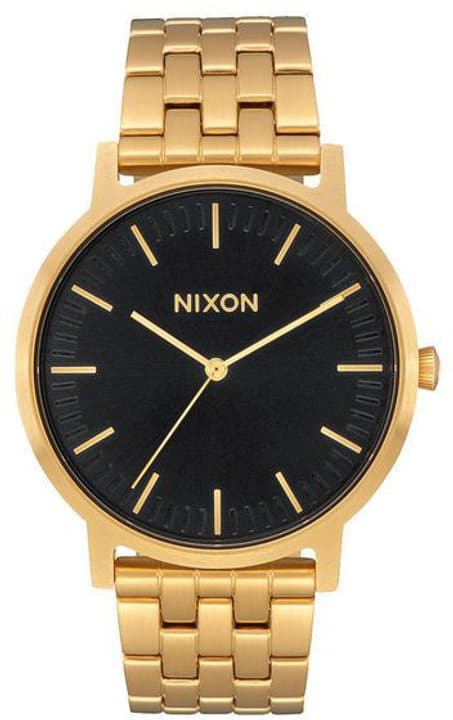 Porter All Gold Black Sunray 40 mm Montre bracelet Nixon 785300137054 Photo no. 1