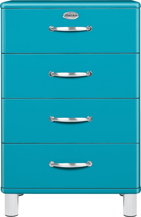 MALIBU Commode 407021900000 Dimensions L: 60.0 cm x P: 41.0 cm x H: 92.0 cm Couleur Bleu marine Photo no. 1
