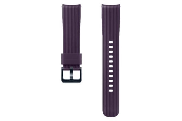 Galaxy Watch (42 mm) Silicone Band 20 mm violet Bracelet Samsung 785300138284 Photo no. 1