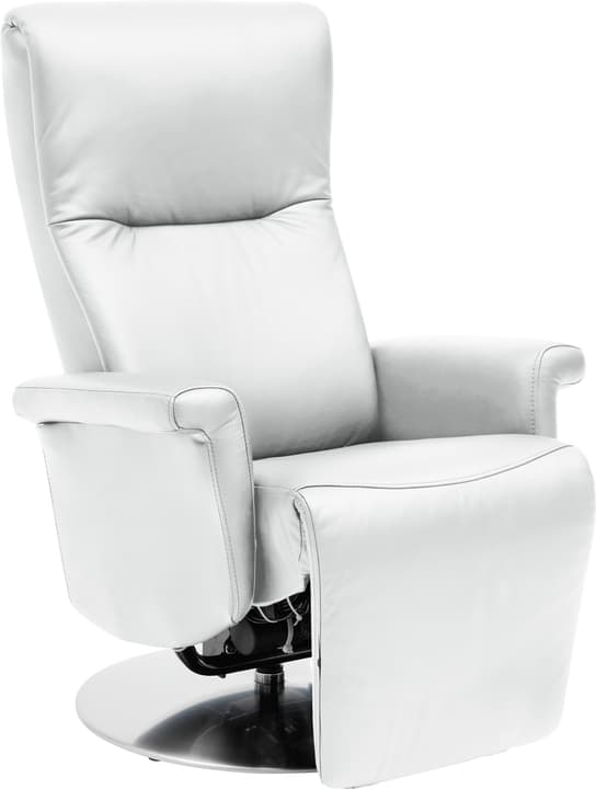 LESSING Fauteuil 402461800110 Dimensions L: 78.0 cm x P: 88.0 cm x H: 115.0 cm Couleur Blanc Photo no. 1
