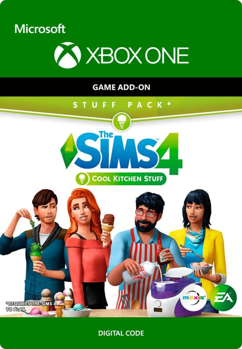Xbox One - The Sims 4 - Cool Kitchen Stuff Numérique (ESD) 785300135630 Photo no. 1