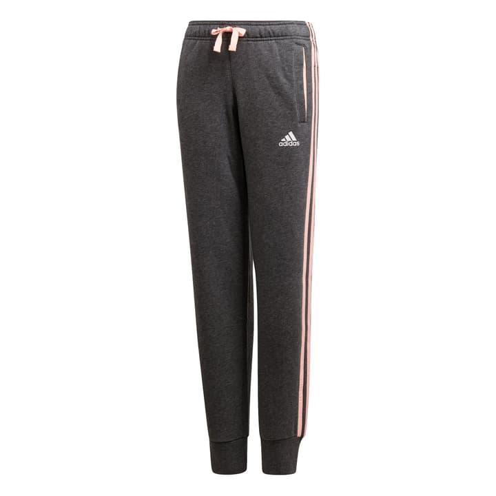 3S Pant Closed Hem Pantalon de survêtement pour fille Adidas 464565112883 Couleur gris foncé Taille 128 Photo no. 1