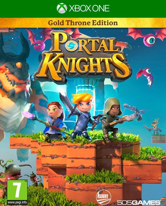Xbox One - Portal Knights: Gold Pack Edition Physique (Box) 785300122125 Photo no. 1