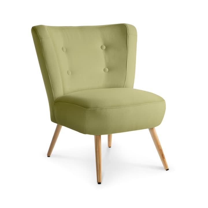 NEELE II Sessel 360039588406 Grösse B: 72.0 cm x T: 67.0 cm x H: 80.0 cm Farbe Hellgrün Bild Nr. 1