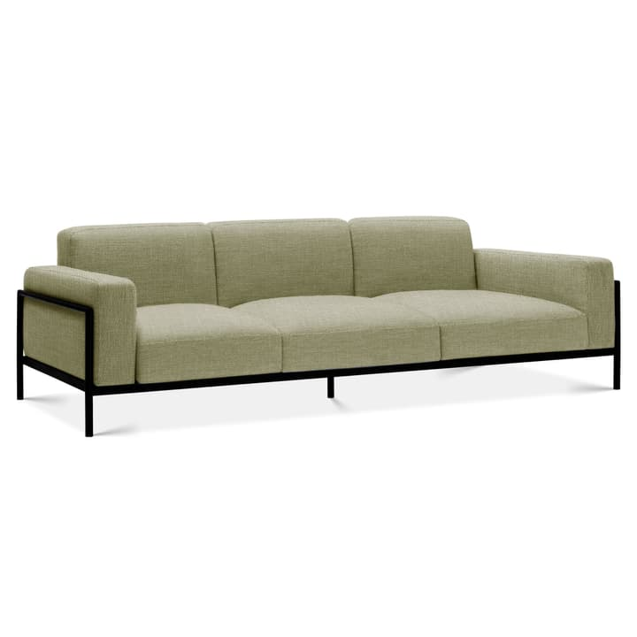 SOMA 3er Sofa Edition Interio 360434630361 Grösse B: 319.0 cm x T: 88.5 cm x H: 85.0 cm Farbe Hellgrün Bild Nr. 1