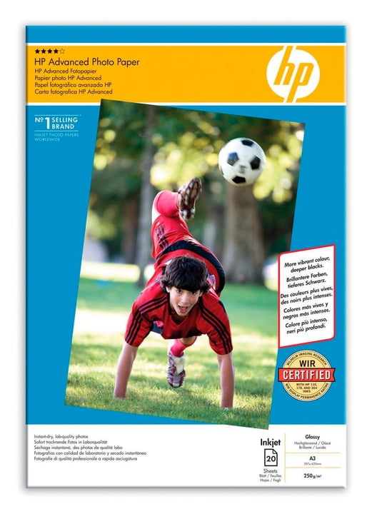 Q8697A Advanced Glossy Photo Paper HP 796050700000 Photo no. 1