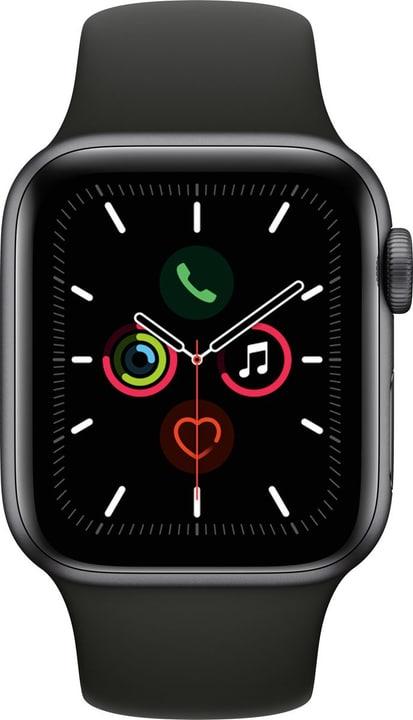 Watch Series 5 LTE 40mm space gray Aluminium Black Sport Band Smartwatch Apple 785300146940 Photo no. 1