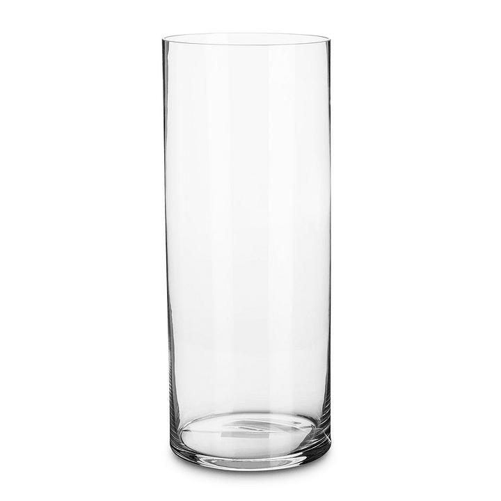 MANOU Vase 396009200000 Dimensions L: 20.0 cm x P: 20.0 cm x H: 50.0 cm Couleur Clair Photo no. 1