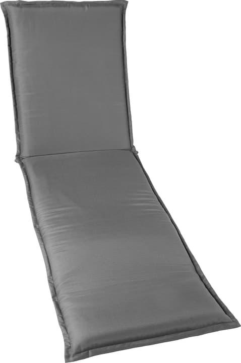 NORA Coussin pour chaise longue 753331619080 Couleur Gris foncé Taille L: 60.0 cm x P: 190.0 cm x H: 6.0 cm Photo no. 1