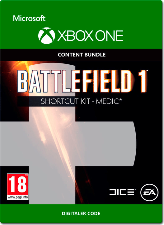 Xbox One - Battlefield 1: Shortcut Kit: Medic Bundle Download (ESD) 785300138673 N. figura 1