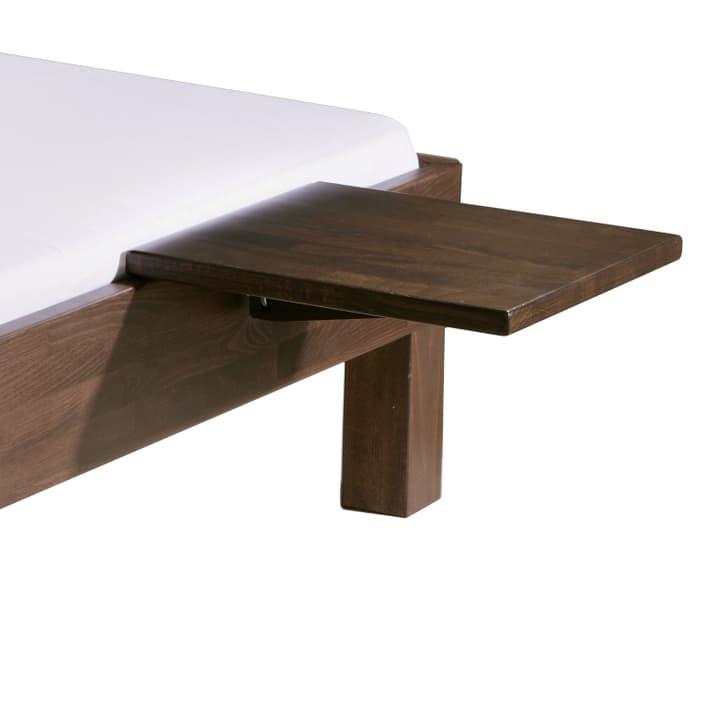 MIDO Table de chevet HASENA 403519885003 Dimensions L: 40.0 cm x P: 35.0 cm x H: 10.0 cm Couleur Hêtre couleur chocolat Photo no. 1