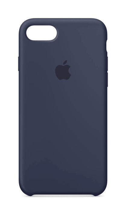 iPhone 8 & 7 Silikon Case Mitternachtsblau Apple 785300130021 Bild Nr. 1