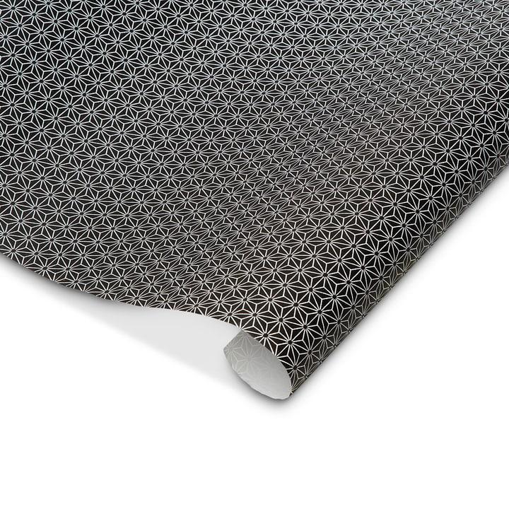PETE papier de cadeau 70x300 cm 386153400000 Couleur Noir divers motifs Dimensions L: 300.0 cm x P: 70.0 cm Photo no. 1
