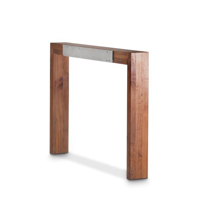 TREVOR piede per tavolo allungabile 366014146802 Dimensioni L: 12.0 cm x P: 99.0 cm x A: 72.0 cm Colore Noce N. figura 1