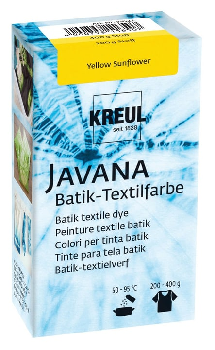 Batik Textilfarbe Yellow Sunflower 666444100000 Bild Nr. 1