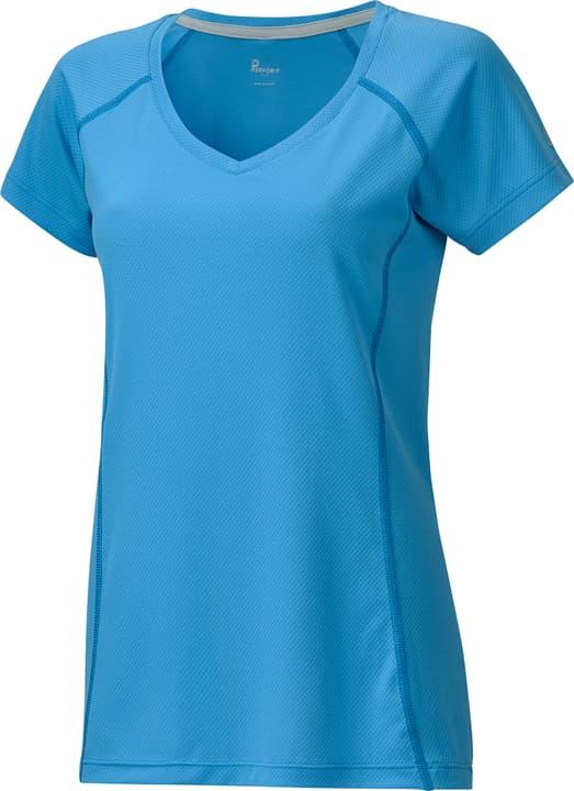 Damen-T-Shirt Perform 470150703642 Farbe azur Grösse 36 Bild-Nr. 1