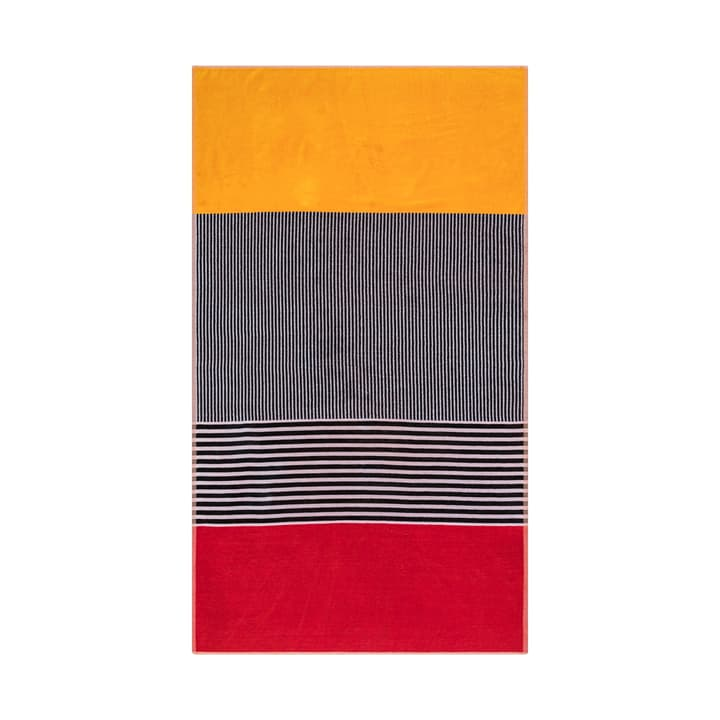 ARMO serviette de plage 374142022330 Dimensions L: 100.0 cm x P: 180.0 cm Couleur Rouge Photo no. 1