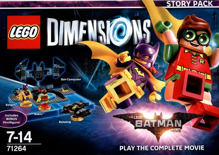 LEGO Dimensions - Story Pack - LEGO Batman Movie Fisico (Box) 785300121736 N. figura 1