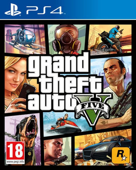 PS4 - GTA 5 Fisico (Box) 785300118836 N. figura 1