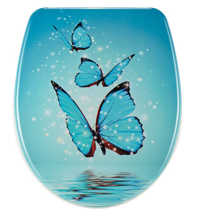 WC-Sitz Nice Butterfly Slow M. diaqua 675192900000 Bild Nr. 1