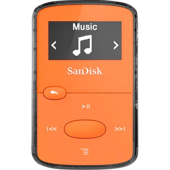 Clip Jam 8GB Lettore MP3 arancione SanDisk 785300126098 N. figura 1