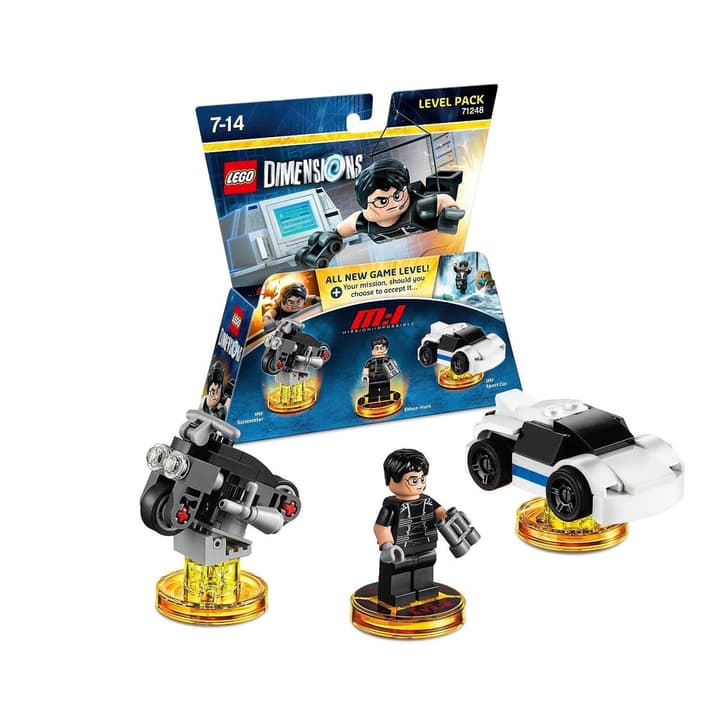 LEGO Dimensions Level Pack MissImpossible Fisico (Box) 785300121348 N. figura 1