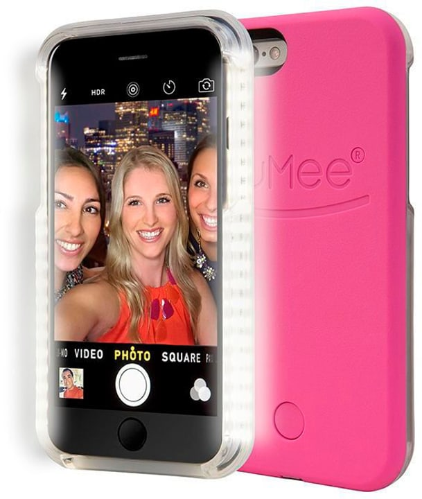 LuMee Selfie Cover iPhone 6 Hot Pink 785800404933 Photo no. 1