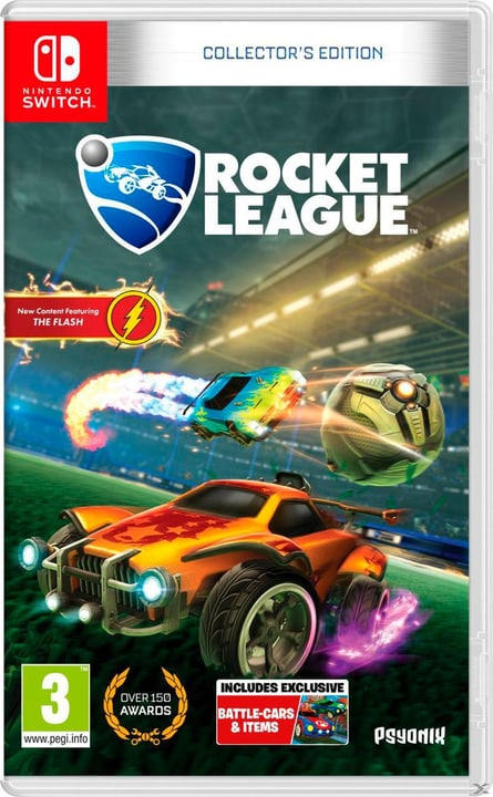 NSW - Rocket League Collector's Edition D/F Box 785300131882 Photo no. 1