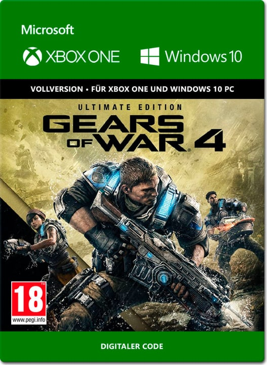 Xbox One - Gears of War 4 Ultimate Edition Download (ESD) 785300137323 Bild Nr. 1