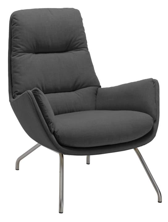 ANDRES Sessel 402452307084 Grösse B: 83.0 cm x T: 87.0 cm x H: 96.0 cm Farbe Anthrazit Bild Nr. 1
