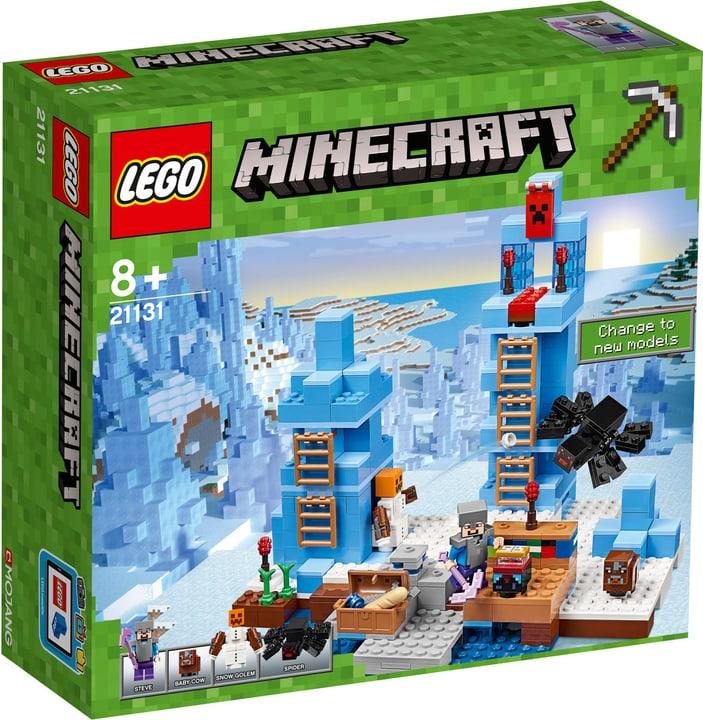 Lego Minecraft Le punte di ghiaccio 21131 748858900000 N. figura 1