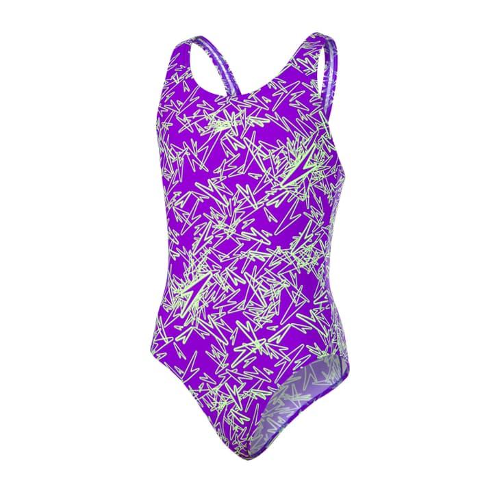 Boom Allover Splashback Mädchen-Badeanzug Speedo 462864312845 Farbe violett Grösse 128 Bild-Nr. 1
