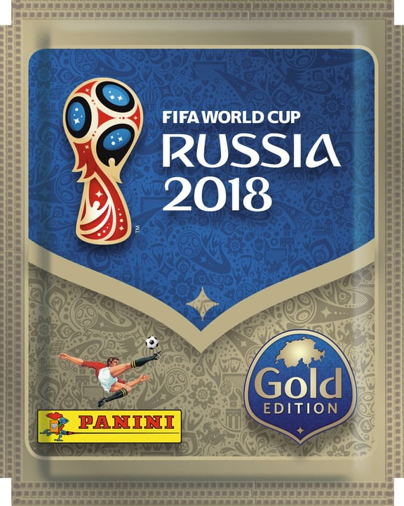 PANINI 2018 FIFA World Cup TM Official Sticker Collection Gold Edition 747652000000 N. figura 1