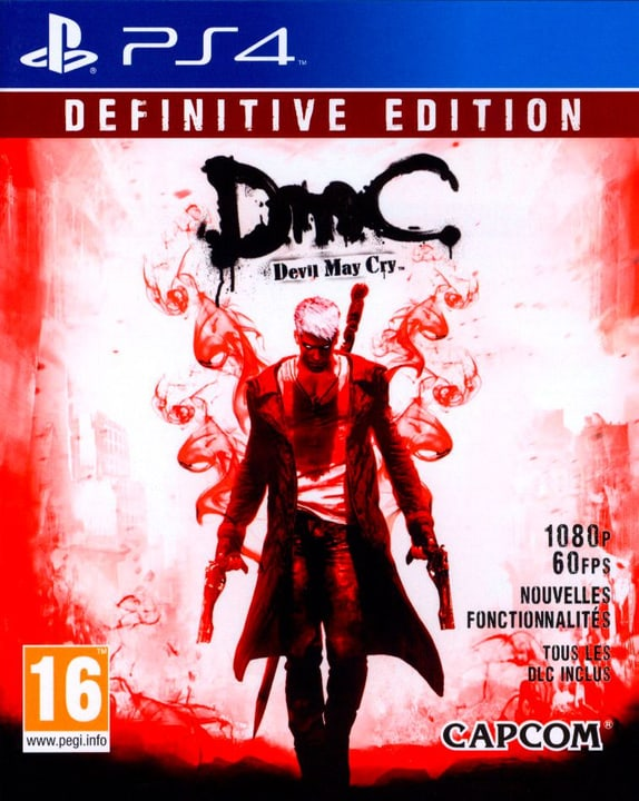 PS4 - DmC Devil May Cry : Definitive edition Fisico (Box) 785300128223 N. figura 1