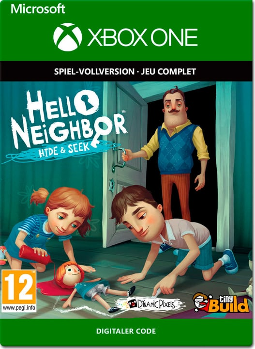 Xbox One - Hello Neighbor Hide and Seek Download (ESD) 785300141421 N. figura 1