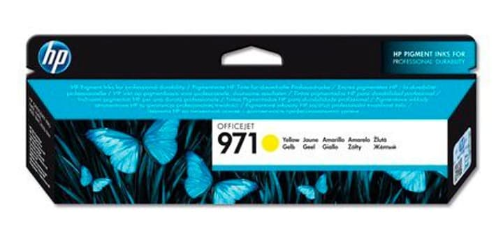 971 Officejet cartouche d'encre jaune HP 785300125160 Photo no. 1