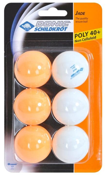 Jade Poly 40+ 3 weiss, 3 orange Tischtennisball Schildkröt 491640300000 Bild-Nr. 1