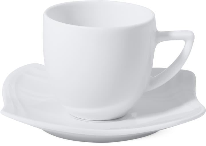 VANITY Tasse à espresso avec sous-tasse Cucina & Tavola 700158900006 Couleur Blanc Dimensions L: 10.7 cm x H: 7.4 cm Photo no. 1