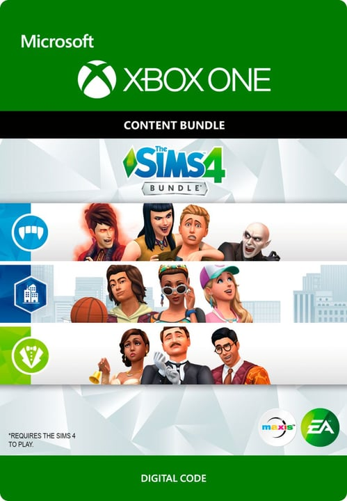 Xbox One - The SIMS 4: Extra Content Starter Bundle Digital (ESD) 785300136289 Bild Nr. 1