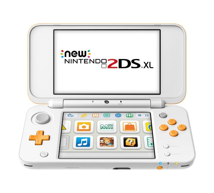 NEW 2DS XL Blanc Orange Nintendo 785436900000 Photo no. 1