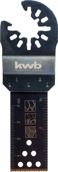 Lame de scie plongeante bimétal 22 mm kwb 610516400000 Photo no. 1