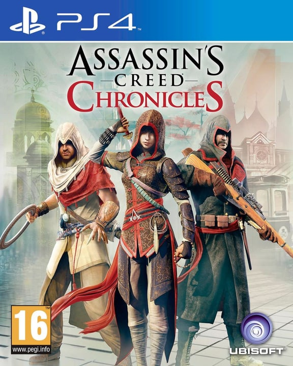 PS4 - Assassins Creed Chronicles Pack Box 785300120760 Bild Nr. 1