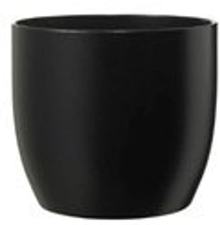 Cache-pot mat Soendgen 657556000014 Taille L: 14.0 cm x L: 14.0 cm x H: 13.0 cm Couleur Noir Photo no. 1