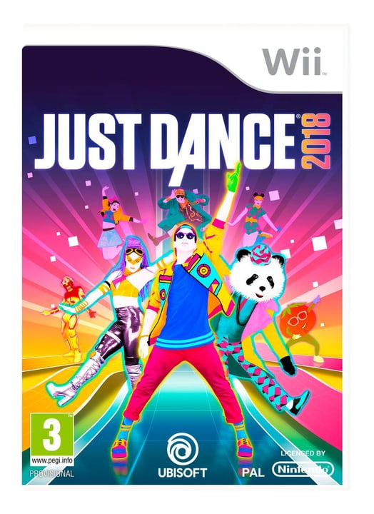Wii - Just Dance 2018 Fisico (Box) 785300128749 N. figura 1