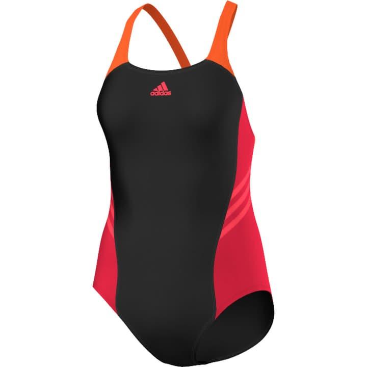 I INS 1PC Costume da bagno da donna Adidas 462155403620 Colore nero Taglie 36 N. figura 1