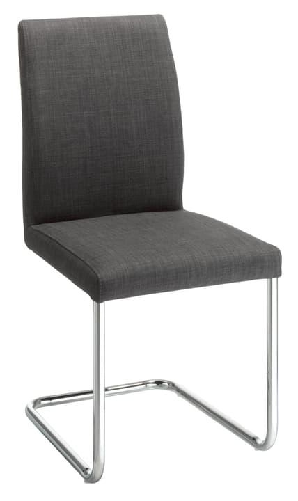 MORETTI Chaise en porte-à-faux 402348200083 Dimensions L: 55.0 cm x P: 45.0 cm x H: 93.0 cm Couleur Gris foncé Photo no. 1