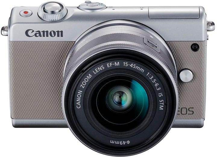 EOS M100 Kit 15-45 + 55-200 Grau Systemkamera Kit Canon 785300141411 Bild Nr. 1