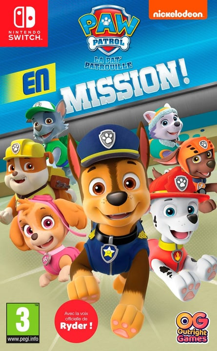 NSW - Paw Patrol: En Mission (F) Box 785300138145 Photo no. 1